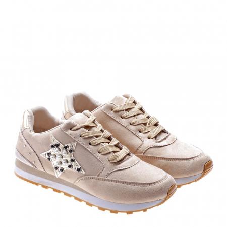 Pantofi sport dama Onora bej2