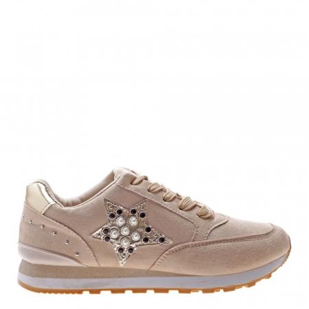 Pantofi sport dama Onora bej1