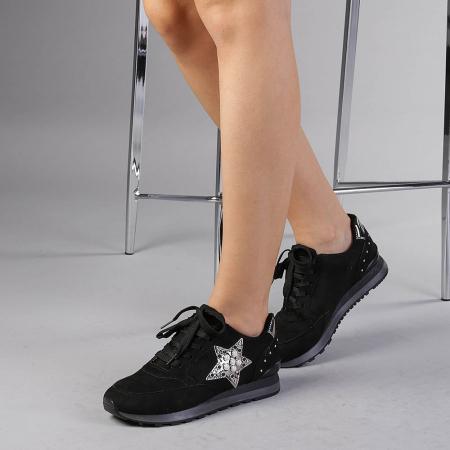 Pantofi sport dama Onora negri2