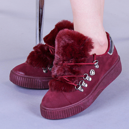 Pantofi sport dama Pamela grena0