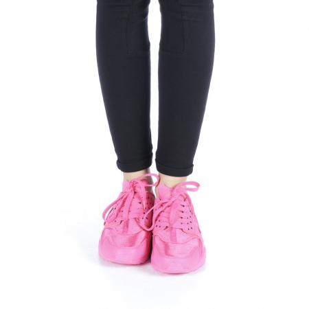 Pantofi sport dama Polina roz4
