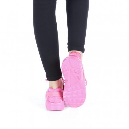 Pantofi sport dama Polina roz3