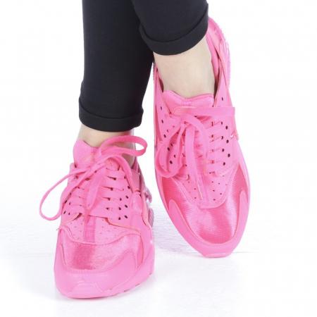 Pantofi sport dama Polina roz1