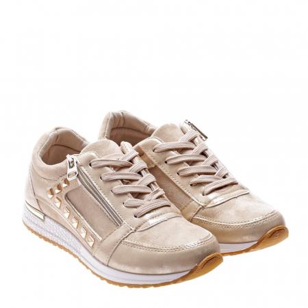 Pantofi sport dama Ressie bej2