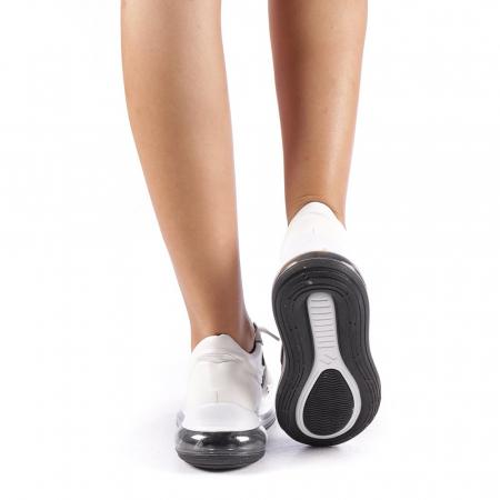 Pantofi sport dama Sadal albi2