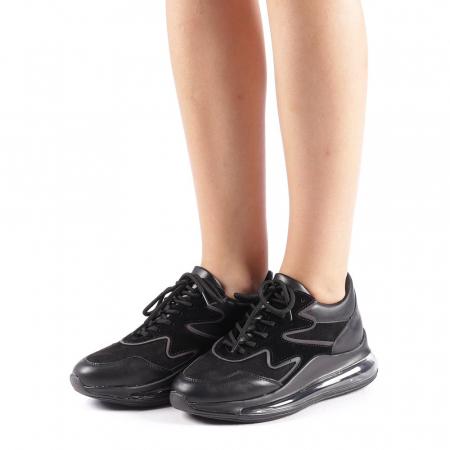Pantofi sport dama Sadal negri1