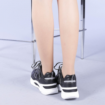 Pantofi sport dama Saima negri3