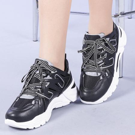 Pantofi sport dama Saima negri0