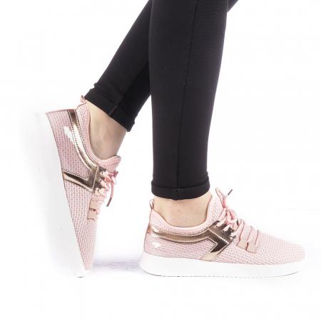 Pantofi sport dama Setena roz0