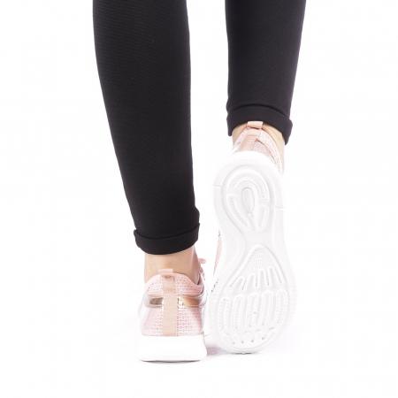 Pantofi sport dama Setena roz3