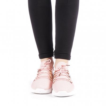 Pantofi sport dama Setena roz4