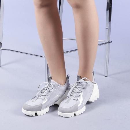 Pantofi sport dama Sonia gri2