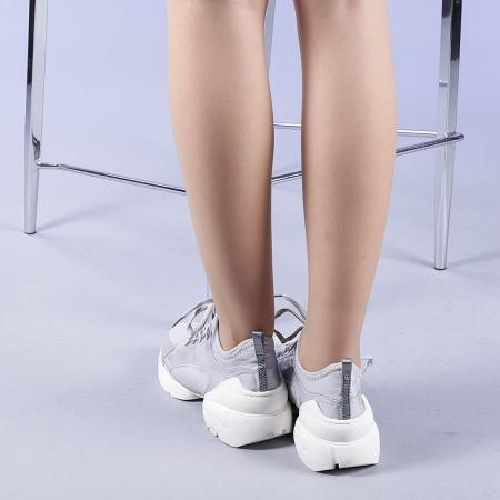 Pantofi sport dama Sonia gri3