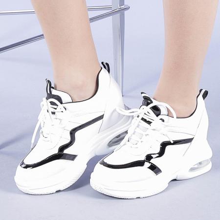 Pantofi sport dama Tameea albi0