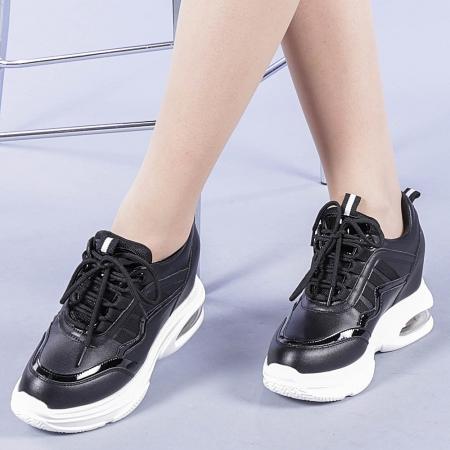 Pantofi sport dama Tameea negri0