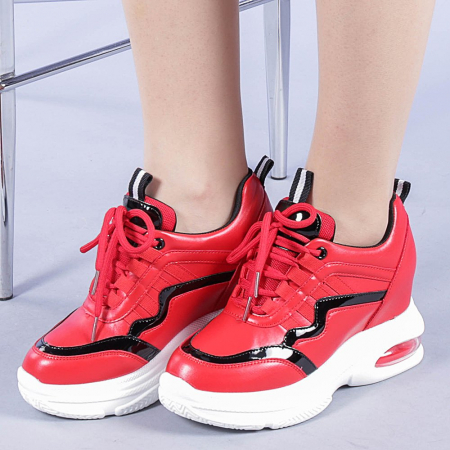 Pantofi sport dama Tameea rosii0