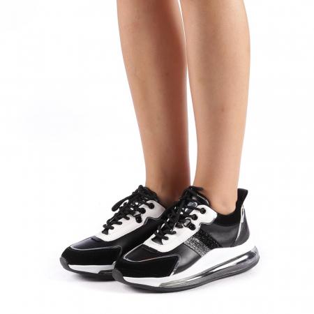 Pantofi sport dama Tamina negri1