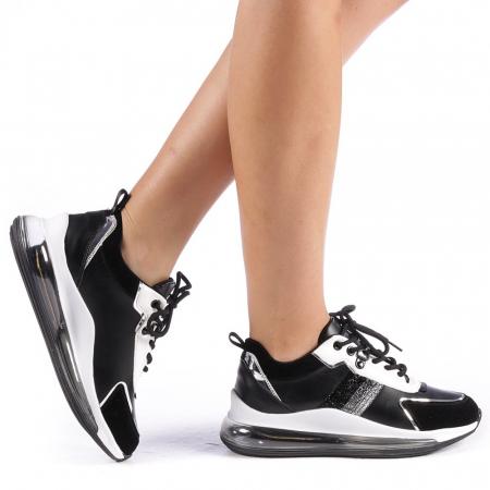 Pantofi sport dama Tamina negri0