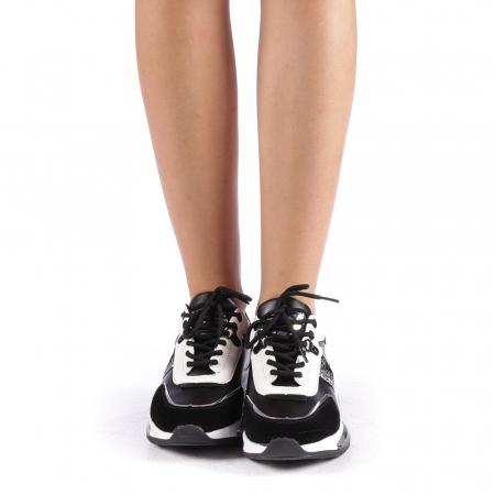 Pantofi sport dama Tamina negri3
