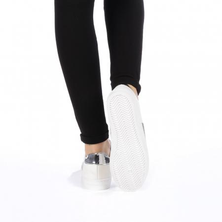 Pantofi sport dama Tarina albi2