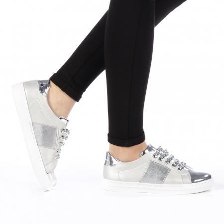 Pantofi sport dama Tarina gri0