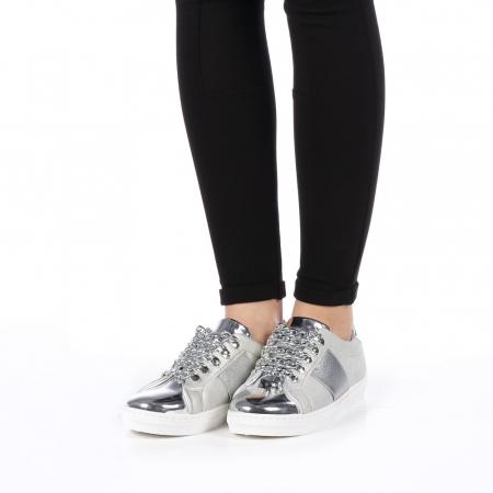 Pantofi sport dama Tarina gri2