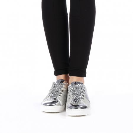 Pantofi sport dama Tarina gri4