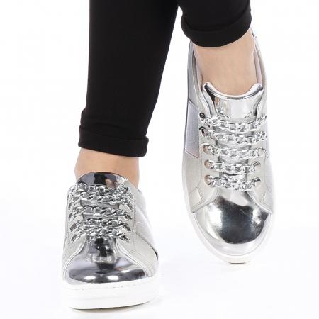 Pantofi sport dama Tarina gri1