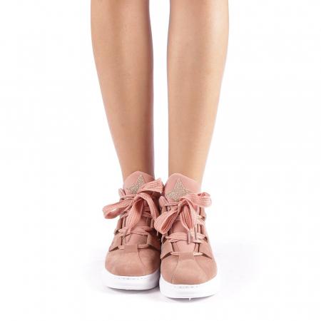 Pantofi sport dama Tasia roz3