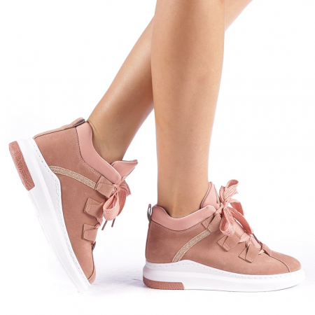 Pantofi sport dama Tasia roz0