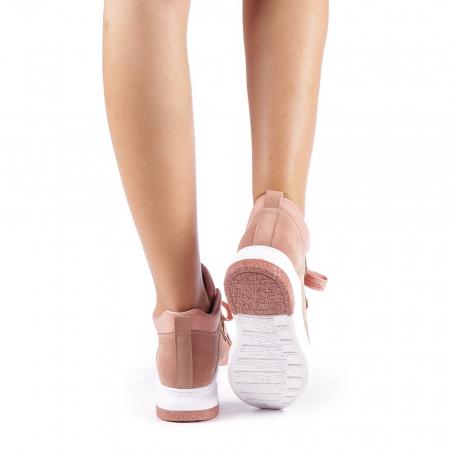 Pantofi sport dama Tasia roz2