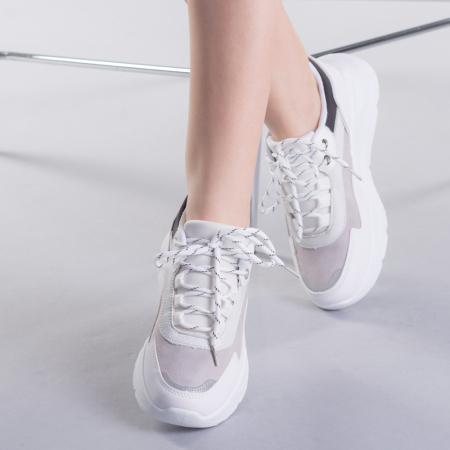 Pantofi sport dama Ylona gri0