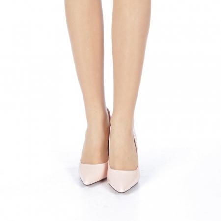 Pantofi stiletto Adelle roz4