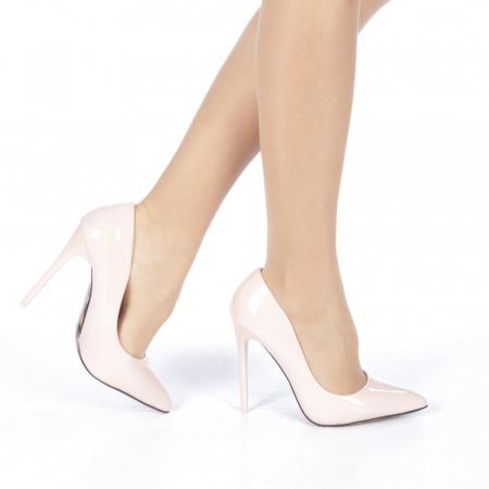 Pantofi stiletto Adelle roz0