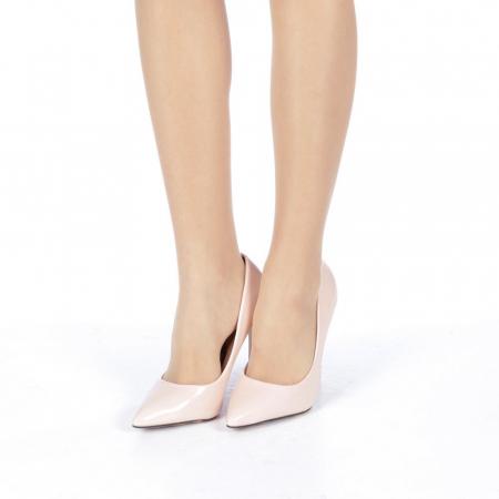 Pantofi stiletto Adelle roz2