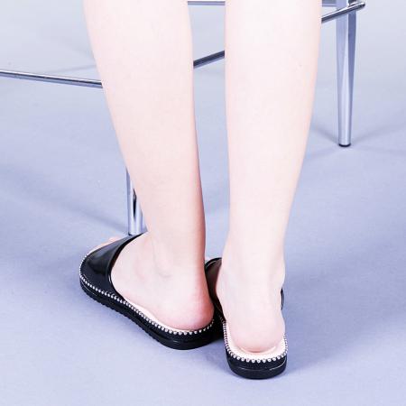 Papuci dama Agripina negri3