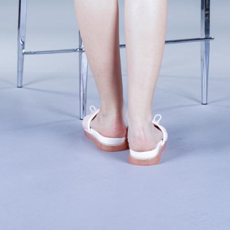 Papuci dama Corina roz3