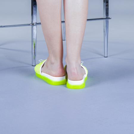 Papuci dama Corina verzi3