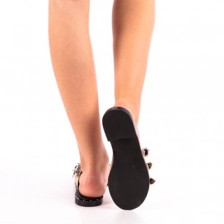 Papuci dama Edith aurii2