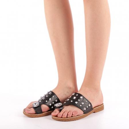 Papuci dama Gia negri1