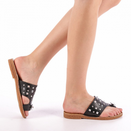 Papuci dama Gia negri0