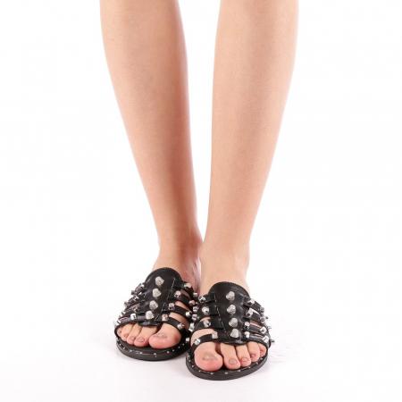 Papuci dama Iolanda negri3