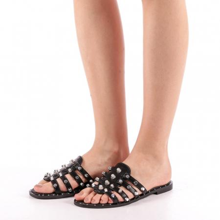 Papuci dama Iolanda negri1
