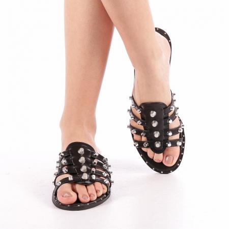 Papuci dama Iolanda negri4
