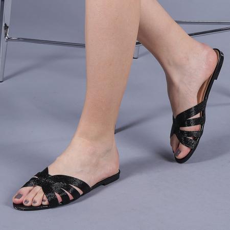 Papuci dama Isra negri0