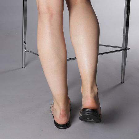 Papuci dama Kohn aurii3