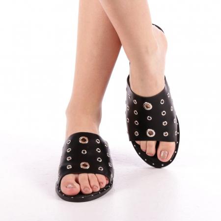 Papuci dama Laura negri4