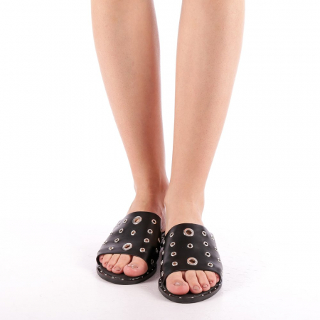Papuci dama Laura negri3