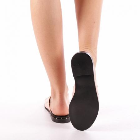 Papuci dama Laura roz2