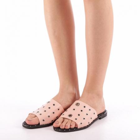 Papuci dama Laura roz1